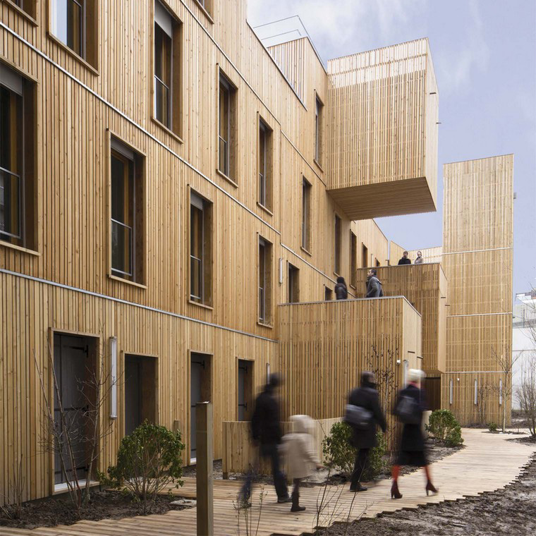New post on 'Paris entdeckt den Holzbau' – blog Urbanplanet.info