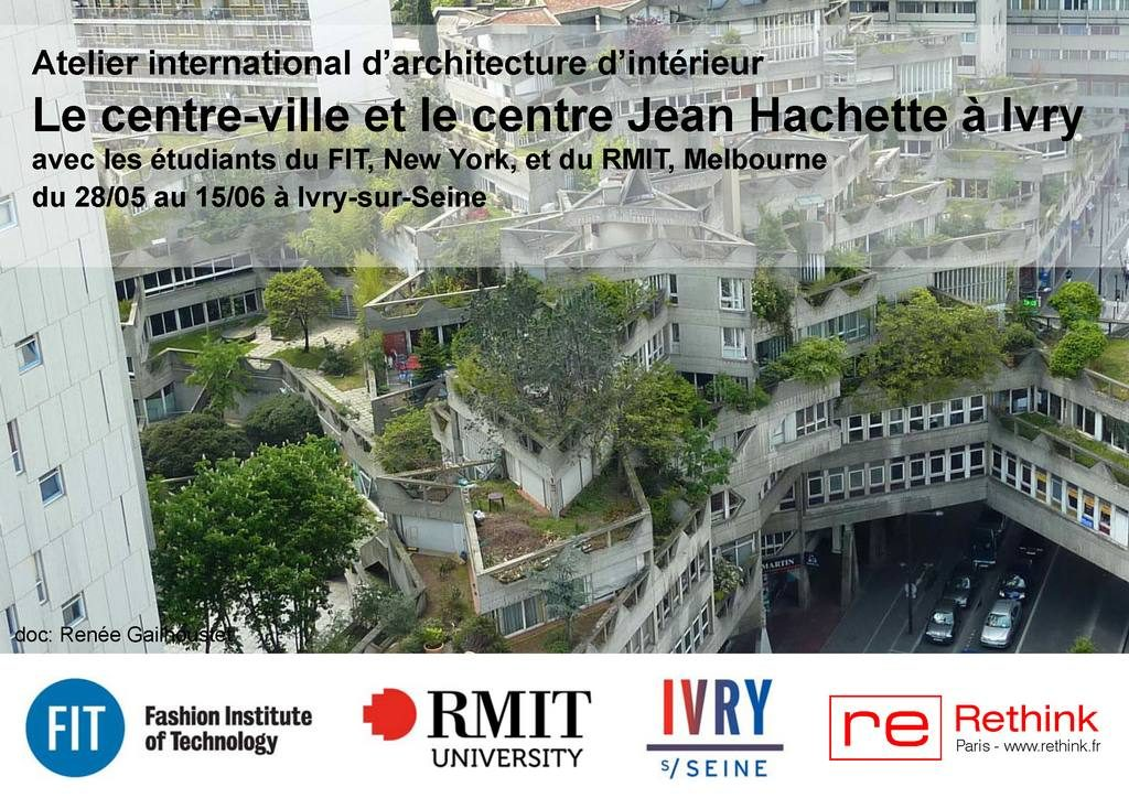 news Workshop Ivry-sur-Seine (FR) FIT RMIT RETHINK