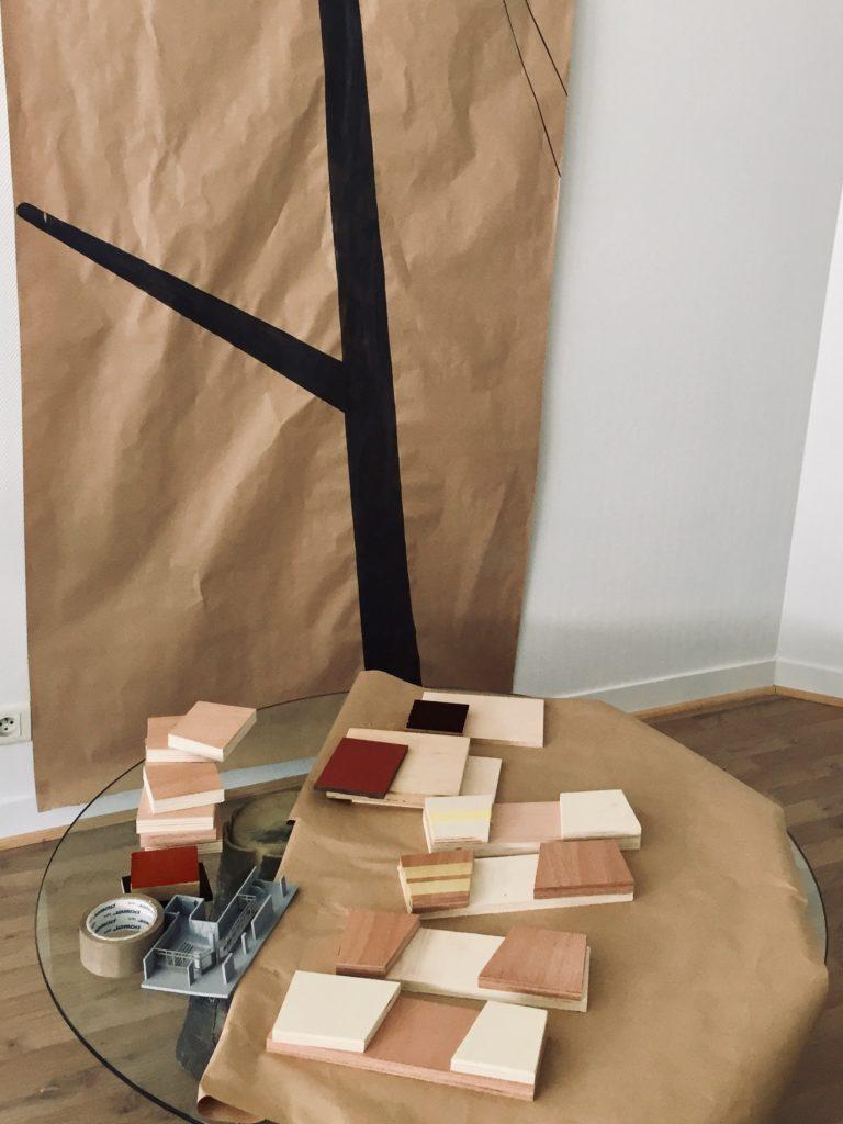 Recherche habillages bois © RETHINK