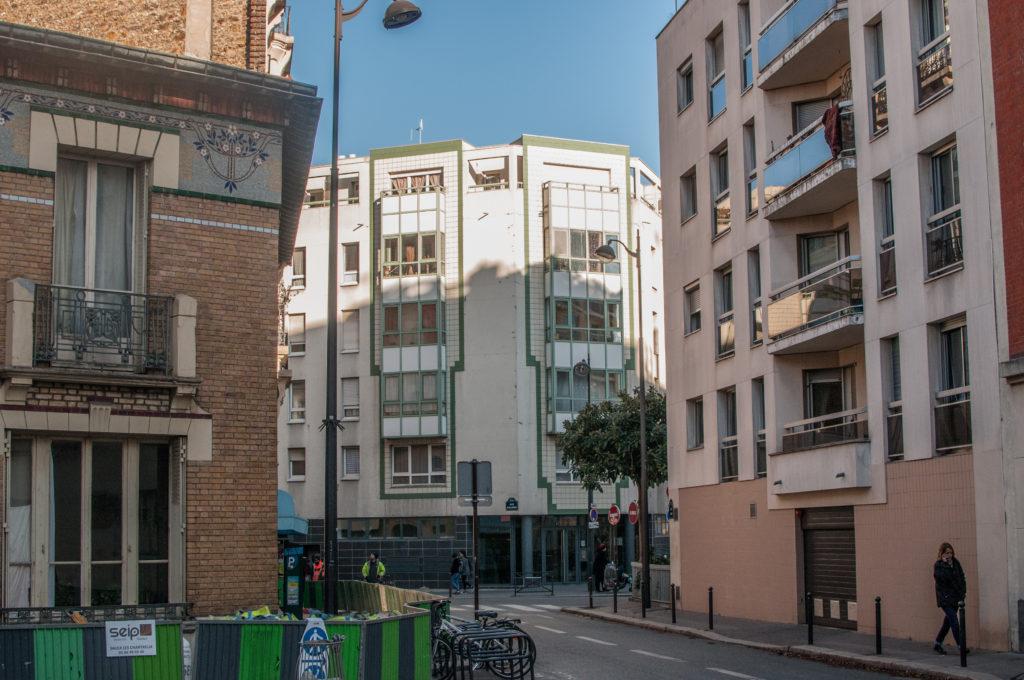 rue d'Alleray Paris (FR) Toit et Joie © RETHINK