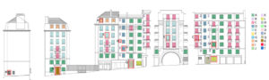Réhabilitation 63 logts Rue des Carmes - Paris (FR)