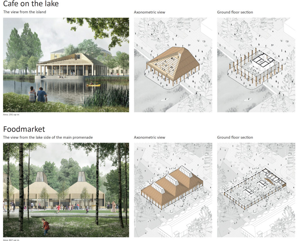 Tuchkov Buyan park competition RU-Saint Petersburg © RETHINK
