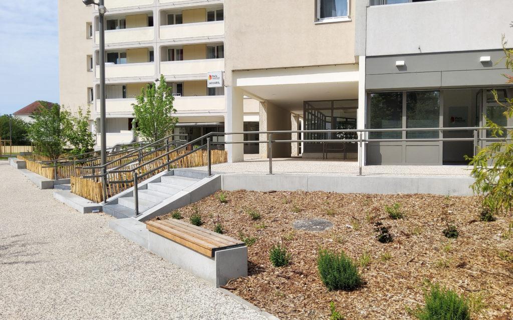 Delivery of residence La Hêtraie – Paris Habitat