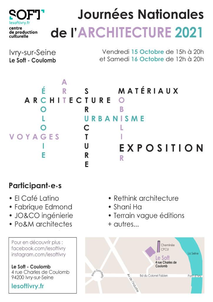 Les Journées Nationales de l'Architecture 2021 au Soft