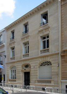Ambassade d'Allemagne, Paris (FR) @ RETHINK