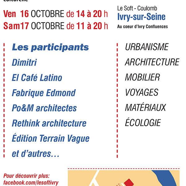 Journée d'architecture Le Soft F-Ivry-sur-Seine © RETHINK