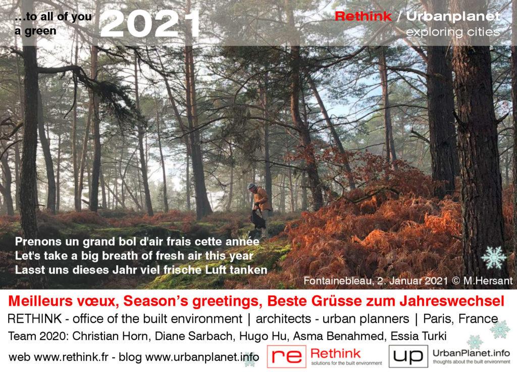 Seasons Greetings 2021 © RETHINK