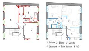 Logement témoin Rue des Carmes - Paris (FR) @ Atelier de la Seine